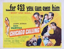 Chicago Calling 1951 DVD - Dan Duryea / Mary Anderson